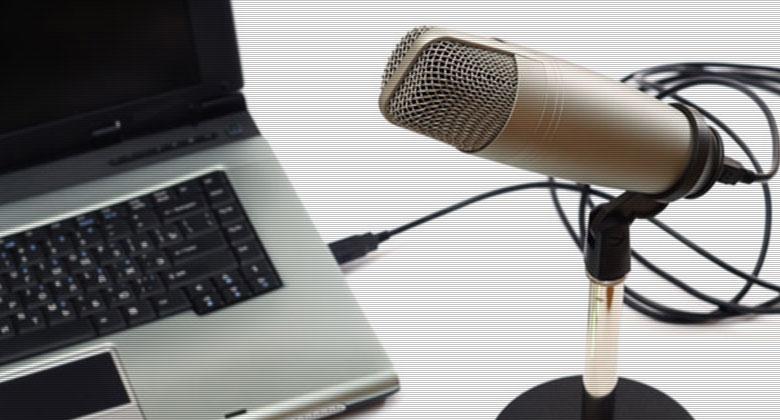 无线麦克风和电脑
