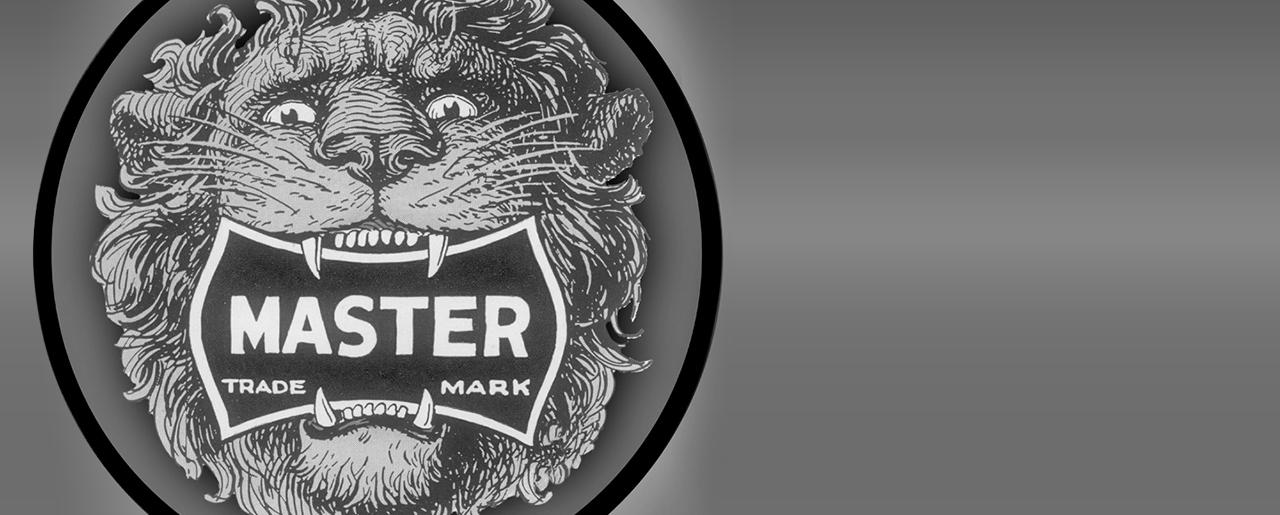 玛斯特锁雄狮标志