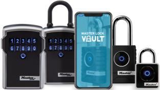玛斯特锁Vault Enterprise蓝牙产品系列