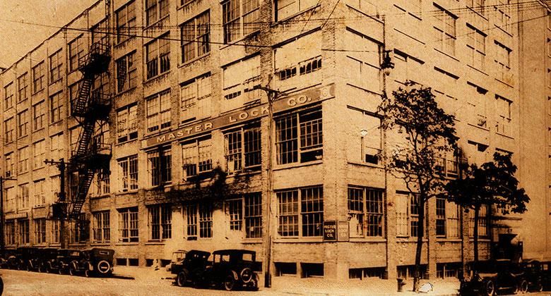 1930年的玛斯特锁大楼