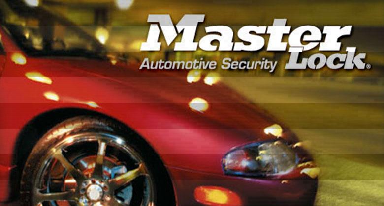 玛斯特锁推出汽车锁系列和车辆安全产品线
