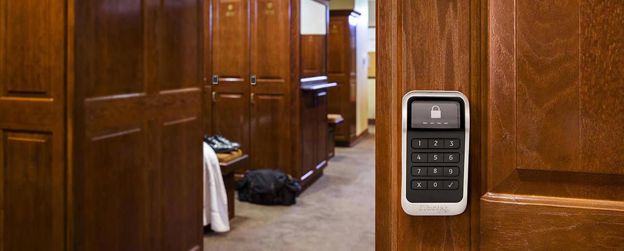 电子嵌入式储物柜锁具